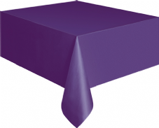"Purple Rectangle Tablecover 54""x108""/137cmx274cm"